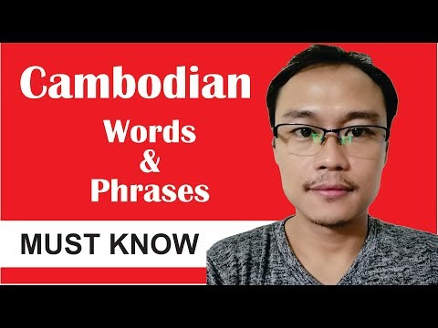Cambodian Words & Phrases You Must Know