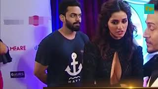 Disha Patani rare oops moment with Tiger Shorff