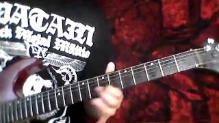Of Fire w/Entombed ending - DISMEMBER (Guitar Cover)