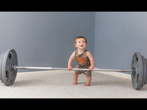 Cuteness Overload: Funny Babies Workout Moments