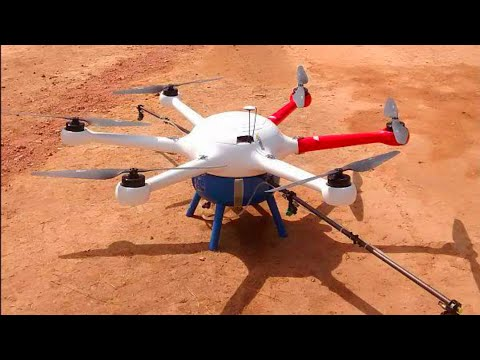 Agricultural drones are India use ?? Agricultural Spray