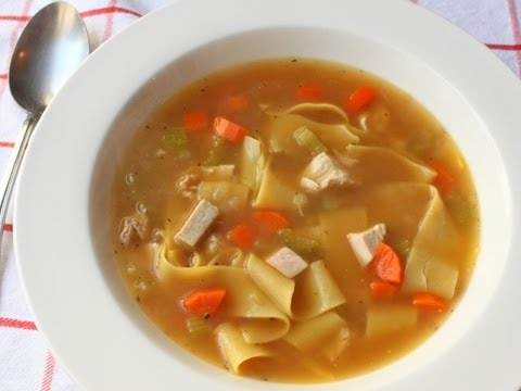 Roasted Chicken Broth Recipe – Part 1 of How to Make Chicken Noodle Soup