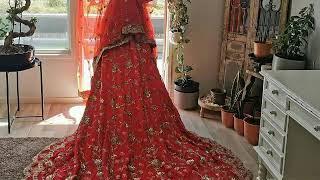 Pakistani Bridal Wear - Elegant #red # Pakistanibride #baraat #desi #wedding ...