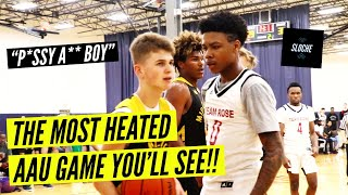 THIS IS AAU ENERGY!! White Boy vs. Team Rose was a SHOW!!
