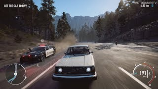 Need for Speed Payback - Drift VOLVO 242DL Abandoned Car Location and Customization