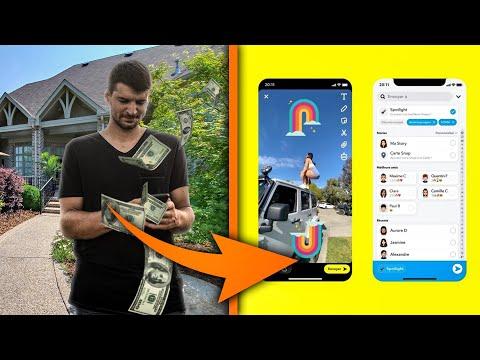 Comment Gagner De L'argent Avec Snapchat Spotlight ? Comment Gagner De L'argent Avec Snapchat Spotlight ?
