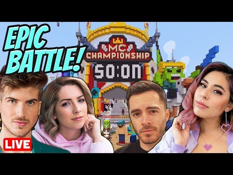 Playing the Most EPIC Minecraft Championship with 40 other Youtubers!