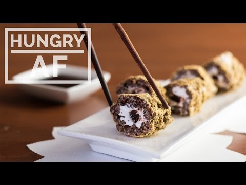 Video Sushi S'mores | Hungry AF