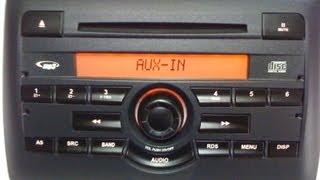 Fiat Stilo Radio Cd Mp3 Original