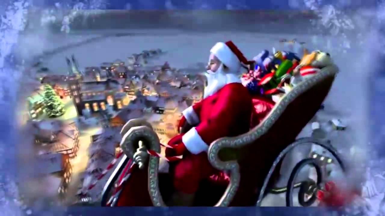 Il viaggio di Babbo Natale nella notte di Natale… Tanti Auguri!