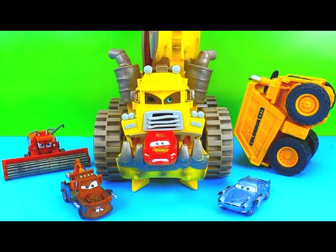 Disney Pixar Cars Screamin Banshee COLOSSUS XXL Frank Take On Lightning McQueen Mater Just4fun290
