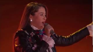 Leslie Mar * INVENCIBLE * en Semifinal de La Voz * Espectacular Voz