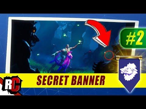 Secret Banner Location Week 2 Fortnite Season 6 Hunting Party