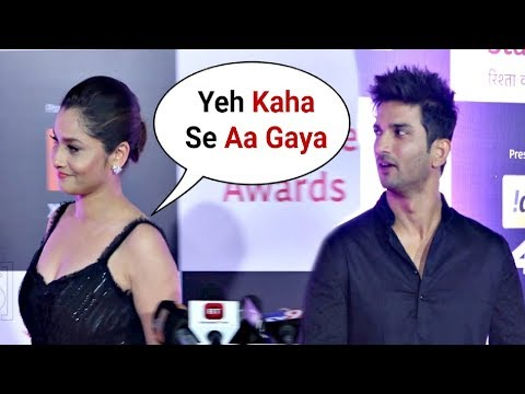 Download Ankita Lokhande Ignores Ex Boyfriend Sushant Singh Rajput At Star Screen Awards 2018 HD Mp4 3GP Video and MP3