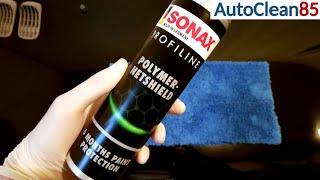 SONAX POLYMER NETSHIELD / Sprühversiegelung - Anwendung und Test