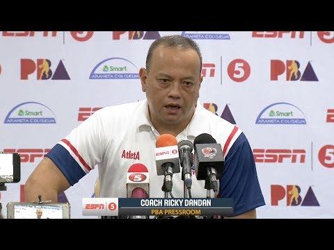 Presscon: Blackwater vs. Columbian | PBA Commissioner's Cup 2018