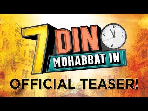 7 Din Mohabbat In | Official Teaser | Mahira Khan, Sheheryar Munawar | B4U
