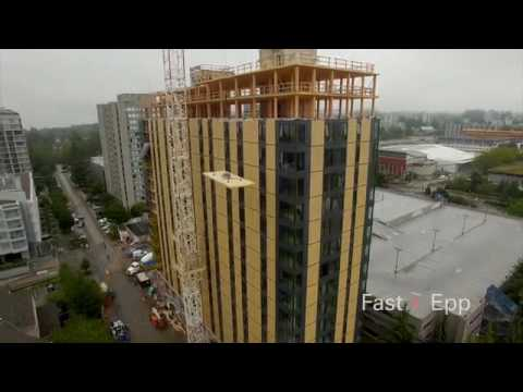 World's Tallest Wood Building - UBC Brock Commons
