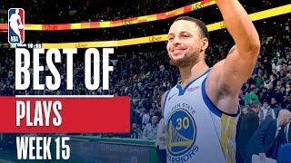 NBA's Best Plays | Week 15