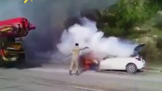 Простой гражданин vs. пожарные