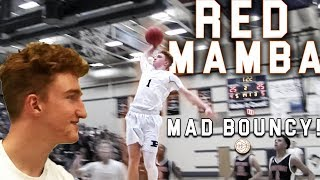 Red Mamba Nico Mannion is BOUNCY! 4 DUNKS in Sophomore DEBUT! #19 Ranked in 2020!
