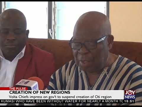TheCreation of New Regions - The Pulse on JoyNews (5-10-18) Pulse on JoyNews 5 10 18