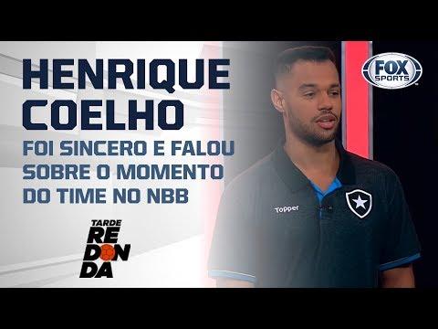 FALA, HENRIQUE COELHO! Armador do Botafogo é o convidado do