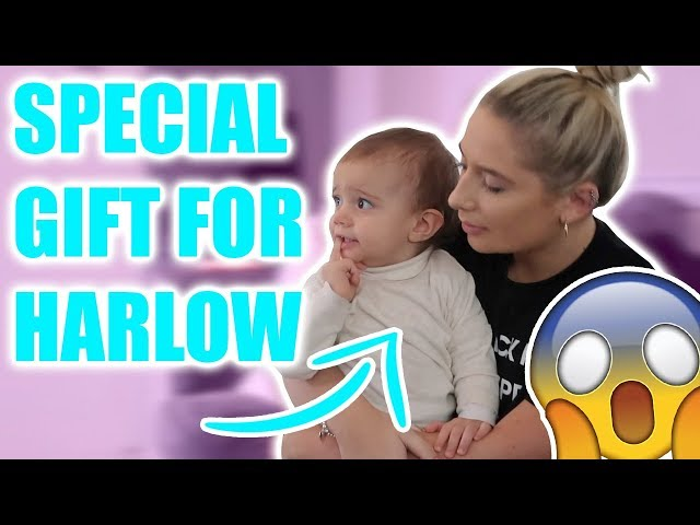 SAFFRON GIVES HARLOW SOMETHING SO SPECIAL TO HER!!