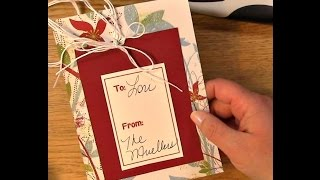 #39 Free Printables-Fast Gift Tags on a Budget!