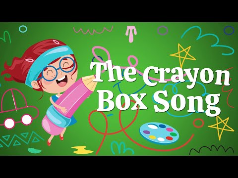 The Crayon Box Song | Christian Songs For Kids