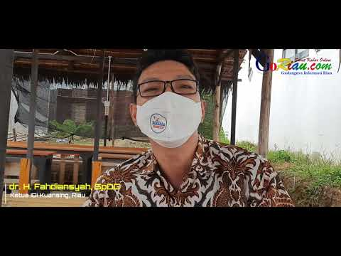 VIDEO: Tips Sehat Terhindar Covid-19 ala Ketua IDI Kuansing