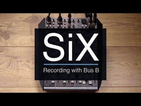 SSL SiX - Recording with Bus B