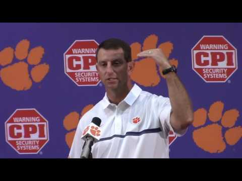 TigerNet.com - Dabo Swinney FSU press conference - Part 1 - 10.25.2016