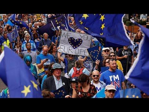 Βρετανία: Χιλιάδες διαδηλωτές εναντίον του Brexit
