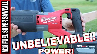 MILWAUKEE M18 FUEL SUPER SAWZALL REVIEW- TOOL REVIEW TUESDAY!