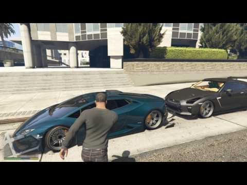 Girl Try's To Steal My Lamborghini In GTA 5