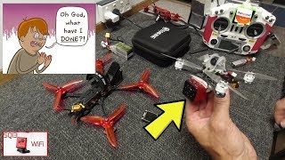 Eachine TWIG FPV Racing Drone - 1080p HD camera HACK