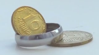 How to make a ring out of a coin - Tutorial