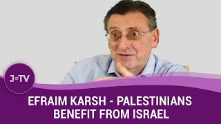 WATCH: History Professor claims Palestinians have benefited from the existence of Israel.