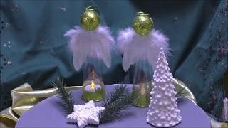 Wunderschöne Engel Aus Plastik Sektgläsern Gemacht