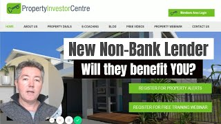 New Non-Bank Lending Product – Can it benefit your Property Investing?
