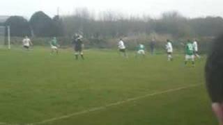 Mousehole AFC Match action 9th Feb 2008