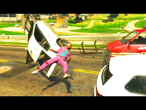 GTA V Unbelievable Crashes/Falls - Episode 12