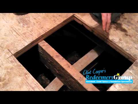 How to Install Support Jacks in Crawl Spaces with Low Clearance | Case Study