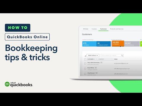 Bookkeeping best practices: tips & tricks | QuickBooks Online (Tutorial)