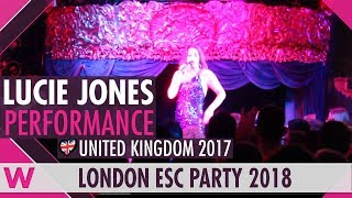 "Lucie Jones covers Ani Lorak's ""Shady Lady"" LIVE @ London Eurovision Party 2018"