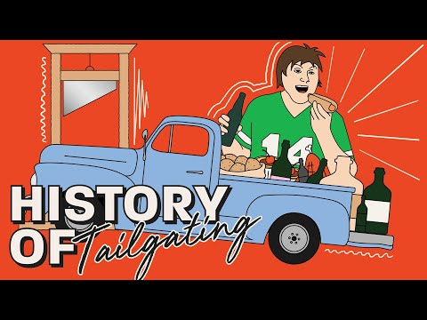 How Civil War Battles & French Executions Created This Football Tradition: History of Tailgating