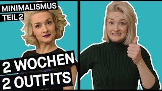 Minimalismus im Kleiderschrank: Zwei Outfits für zwei Wochen (Teil 2)    PULS Reportage