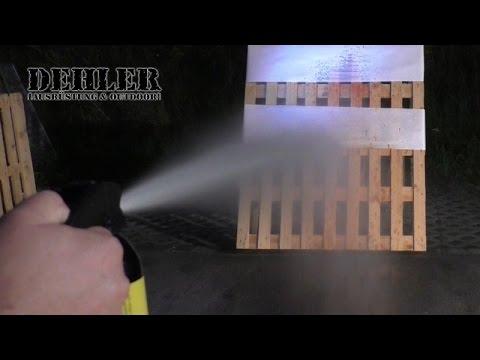 Tierabwehr-Geräte im Praxis-Test - Teil 2: Breitstrahl & Distanzgeräte (Pfefferspray, Abwehrspray)