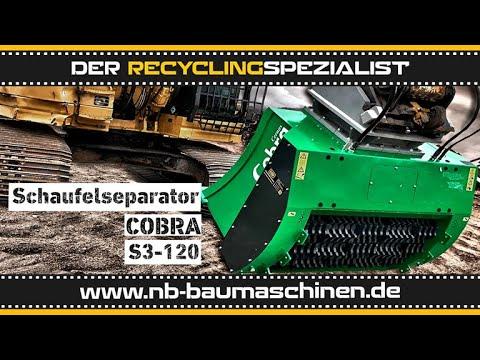 COBRA S 3-120 | Schaufelseparator | Siebschaufel | Sieblöffel